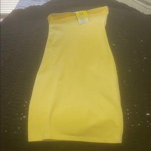 Womens tube top dress